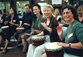 Drum Events mit Töm Klöwer
