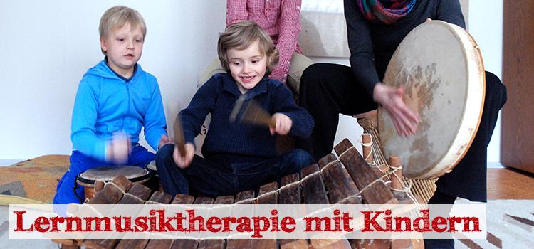 Lernmusiktherapie mit Kindern